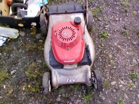 honda izzy petrol lawnmower £40 ono spares repair