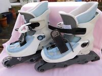 Explorer RS Special Action Adjustable Roller Boots Size 12-2