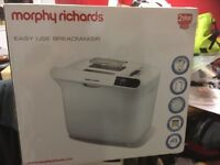 Brand new Morphy Richards bread maker