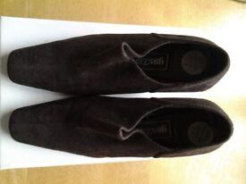 Brown Queen trouser shoe