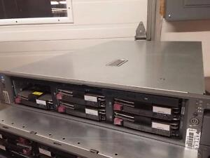 HP DL380 G4 1P 3.4GHz 1MB 1GB Base 2 X 72GB 4 X 300GB  4GB  Seller Refurbished