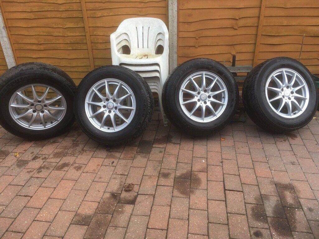 Genuine Mercedes wheels & tyres