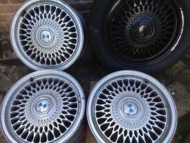 BMW e30 e36 e39 alloy wheels for sale call me on 07874827491