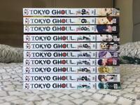 NEW Tokyo Ghoul 1-10 manga comics book bundle
