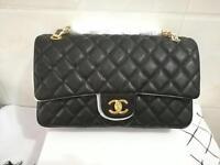 Chanel Jumbo 30cm Caviar Leather Bag