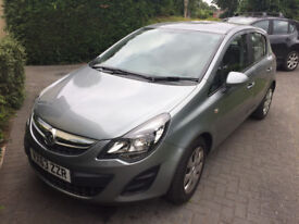 Vauxhall Corsa Exclusiv, 2013 (63) silver hatchback, Manual Petrol,