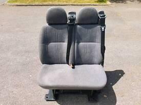 2 transit / vito / vivaro / T4 rear van seats