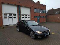 2004 Lexus IS200 - manual - petrol - black - only 69K miles - FSH
