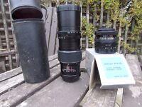 35mm camera lens