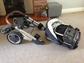 Oyster baby style Pushchair set