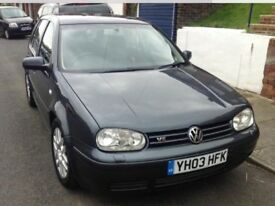 VW Golf mk4 V5 well loved and looked after