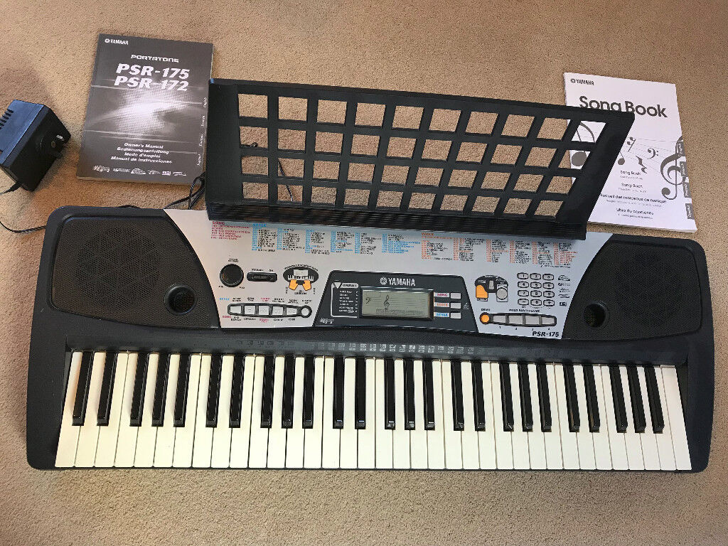 sold yamaha portatone psr 175 electronic keyboard 61. Black Bedroom Furniture Sets. Home Design Ideas