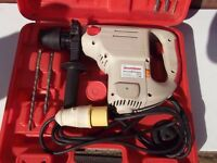 SDS 110v drill in its case
