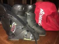 Nordics men's ski boots size 8