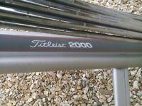 golf clubs -golf cart