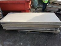 """16 sheets chipboard - used once 3ft x 8ft2 x 1"""", + 3 x 7ft x 4ft4"""