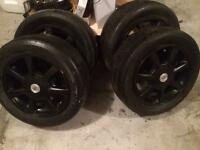 Cadillac CTS 2008 tires and rims