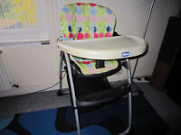 """High chair """"Chicco"""""""