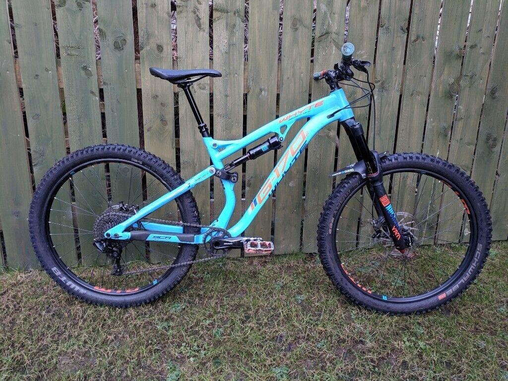 5116285b861 10/10 MBR Rated 2018 Whyte G170 Enduro MTB bike 27.5 Rockshox SRAM schwalbe  full suspension downhill