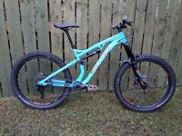 b9a51304217 10/10 MBR Rated 2018 Whyte G170 Enduro MTB bike 27.5 Rockshox SRAM schwalbe  full