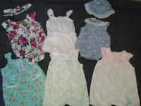 Baby girl clothes bundle in excellent condition. over 130 items £70 ono