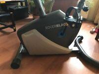 As new programmable Roger Black exercize bike