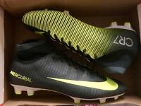Nike Mercurial Victory CR7 DF FG football boots. Men's UK size 10.5