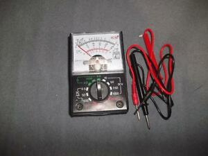 Small Portable Dial Multimeter New Tested