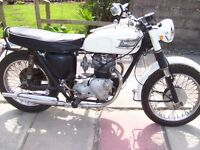 triumph t90 349cc 1963 for restoration matching numbers call or text 07425176040