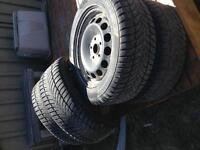 Snow tires from 2011 VW Jetta 215/55 R16