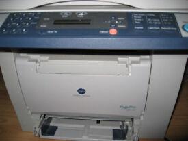 Used Konica Minolta printer