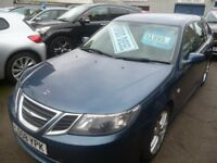 Saab 9-3 Vector Sport DTH,1.9 TID Estate,6 speed manual,FSH,parking sensors,half leather interior
