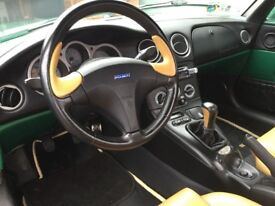 Ready for the summer, lovely condition Fiat Barchetta convertible