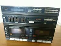 Technics SA-X30L vintage hi-fi system