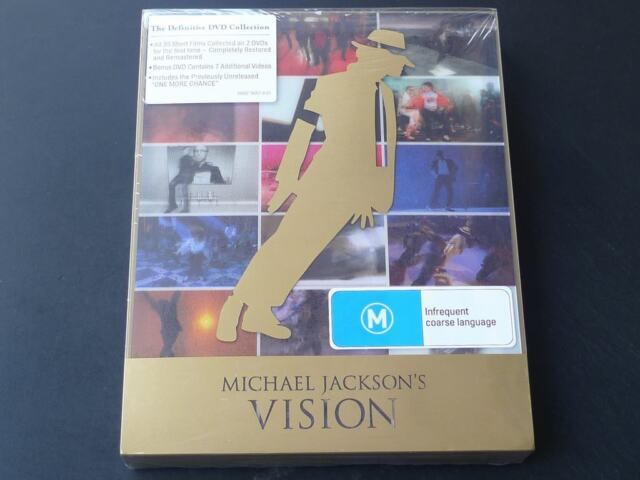 Michael Jackson Vision (2010, 3DVD- Set, Deluxe Vision) SPECIAL OFFER
