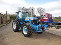 ford 8630 power shift tractor