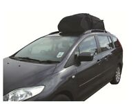 Car Roof Top Cargo Bag Carrier - Ideal For Cars With Existing Roof Rails - Roof Box - Used Once