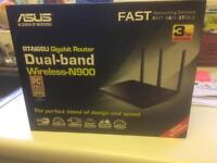 Asus dual band Wireless N900 router