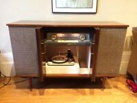 1962 Vintage Pye G73 Stereophonic Radiogram Record Player Radio Antique Fully Working