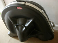 SKB Sousaphone case with wheels -very protective fibreglass cost £600 new, selling at bargain price