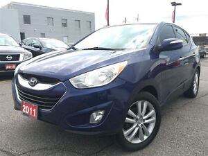 2011 Hyundai Tucson LIMITED, NAVIGATION, LEATHER, ROOF
