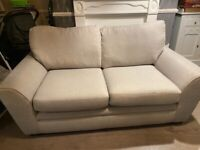 DFS Light grey 2 & 3 seater sofa (like new)