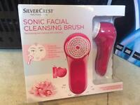 Sonic Facial Cleansing Brush Brand New Boxed Unwanted Gift
