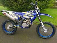 Sherco factory 450 2016 low hrs not KTM