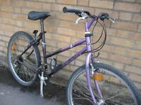 "18"" Giant mountain bike - central Oxford - ready to ride"