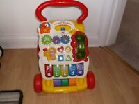 V TECH BABY WALKER, EXCELLENT CONDITION.