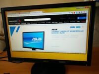 "Monitor 19"" Asus VW193S wide screen"