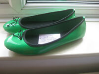 """Arian"" Italian flat shoes - size 40 (6.5) - new with tag"