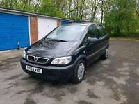 2004 (54) VAUXHALL ZAFIRA, 7 SEATER, LOW MILES, 1 PREVIOUS OWNER, MOT SEPT