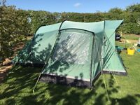 Outwell Montana 4 family tent - in fantastic condition